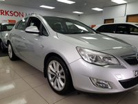 USED 2010 10 VAUXHALL ASTRA 1.6 SE 5d+LEATHER+CLIMATE CONTROL AIR CON+ALLOYS+FOGS+SERVICE HISTORY+