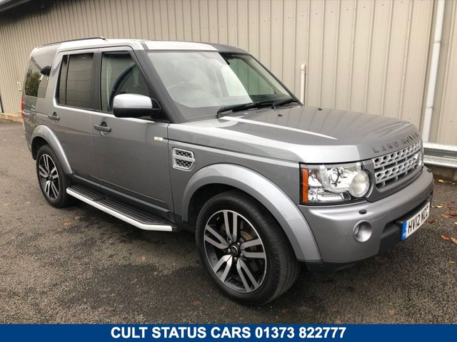 2012 12 LAND ROVER DISCOVERY 3.0 4 SDV6 HSE 5d AUTO 255 BHP AUTOMATIC