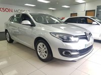 USED 2015 65 RENAULT MEGANE 1.5 EXPRESSION PLUS DCI 5d+KEY CARD ENTRY+SERVICE HISTORY+ZERO ROAD TAX+AIR CON ALLOYS+