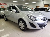 USED 2014 14 VAUXHALL CORSA 1.2 DESIGN AC 3d+AIR CON+CRUISE CONTROL+MP3 CD PLAYER+AUDIO CONTROL+