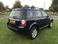 USED 2011 11 LAND ROVER FREELANDER 2.2 TD4 GS 2 owners last owner 5 years