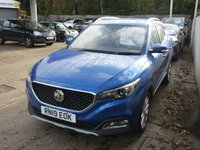 USED 2019 19 MG MG ZS 1.0 EXCITE 5d AUTO 110 BHP 7 YEAR MG WARRANTY DELIVERY MILEAGE