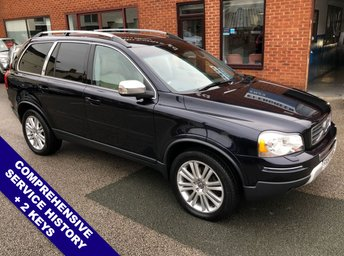 2009 VOLVO XC90 2.4 D5 EXECUTIVE AWD 5d AUTO 185 BHP £12495.00