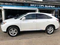 USED 2011 K LEXUS RX 3.5 450H SE-L 5d AUTO 249 BHP