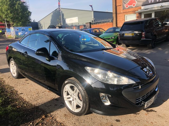 USED 2010 60 PEUGEOT 308 1.6 CC SE THP 2d 156 BHP PEUGEOT 308 SE 1.6 CONVERTIBLE THP . VERY WELL MAINTAINED WITH SERVICE STAMPS UP TO 57000 MILES , LOOKS AND DRIVES SUPERB , ITS A GOOD CLEAN CAR . ELECTRIC POWER HOOD , AIR CONDITIONING , UPGRADED CD ENTERTAINMENT SYSTEM , CRUISE CONTROL ,