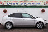 USED 2011 11 FORD FOCUS 1.8 ZETEC 5d 125 BHP FULL SERVICE HISTORY, TWO OWNERS, 12 MONTHS MOT