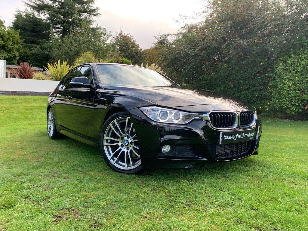 USED 2013 13 BMW 3 SERIES 3.0 330D M SPORT 4d AUTO 255 BHP