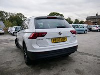 USED 2016 66 VOLKSWAGEN TIGUAN 2.0 SE NAV TDI BMT 4MOTION 5d 148 BHP REAR VIEW CAMERA WITH PARK ASSIST, SAT NAV.BLUETOOTH, CRUISE AND SPEED LIMITER