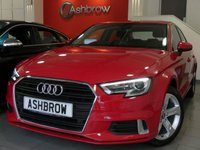 USED 2016 16 AUDI A3 SALOON 1.4 TFSI SPORT 4d 150 S/S NEW SHAPE, £1550 OF OPTIONAL EXTRAS, UPGRADE AUDI SOUND SYSTEM, UPGRADE HILL HOLD ASSIST, UPGRADE PARKING SYSTEM PLUS FRONT & REAR PARKING SENSORS WITH DISPLAY, SAT NAV, LED XENON LIGHTS, CRUISE CONTROL, DAB RADIO, BLUETOOTH PHONE & AUDIO, AUDI SMART PHONE INTERFACE FOR APPLE CAR PAY / ANDROID AUTO, MANUAL 6 SPEED, DUAL CLIMATE AIR CON, AUTO LIGHTS & WIPERS, AUDI DRIVE SELECT, AUDI CONNECT, 1 OWNER FROM NEW, FULL AUDI SERVICE HISTORY, £20 ROAD TAX (109 G/KM), VAT QUALIFYING