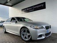 2012 BMW 5 SERIES 2.0 520D M SPORT 4d AUTO 181 BHP £11295.00