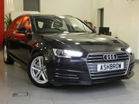 USED 2016 16 AUDI A4 AVANT 2.0 TDI ULTRA SPORT 5d AUTO 190 S/S FULL AUDI HISTORY, £20 ROAD TAX, UPGRADE 17 INCH TWIN 5 SPOKE ALLOY WHEELS, UPGRADE EXTENDED LED INTERIOR LIGHT PACK, UPGRADE ELECTRIC FOLDING HEATED DOOR MIRRORS, SAT NAV, AUDI SMART PHONE WITH APPLE CAR PLAY & ANDROID AUTO, AUDI CONNECT, DAB RADIO, CRUISE CONTROL WITH SPEED LIMITER, LED DAYTIME RUNNING LIGHTS, BLUETOOTH PHONE & MUSIC STREAMING, REAR PARKING SENSORS, ELECTRIC TAILGATE, SPORT SEATS, LEATHER TIPTRONIC MULTIFUNCTION STEERING WHEEL, LIGHT & RAIN, KEYLESS START, AUX & USB, VAT Q