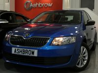 USED 2016 16 SKODA OCTAVIA 1.0 TSI S 5d 115 S/S 1 OWNER FROM NEW, FULL SKODA SERVICE HISTORY, £20 ROAD TAX (104 G/KM), UPGRADE SPACE SAVING SPARE WHEEL, UPGRADE TOOL KIT, MANUAL 6 SPEED, START STOP TECHNOLOGY, 16 INCH 10 SPOKE ALLOYS, REAR MUD FLAPS, GREY CLOTH INTERIOR, LEATHER STEERING WHEEL, TRIP COMPUTER, AIR CONDITIONING, AUX & USB INPUTS, DAB RADIO, BLUETOOTH PHONE & MUSIC STREAMING, SD CARD READER, SMART LINK READY (ACTIVATION REQUIRED), ELECTRIC WINDOWS, ELECTRIC HEATED DOOR MIRRORS, ISO FIX, FOLDING REAR SEATS, VAT QUALIFYING