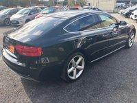USED 2012 12 AUDI A5 2.0 TDI S LINE S/S 5d 177 BHP ** FSH + DAB + XENON HEADLIGHTS **
