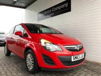 USED 2014 63 VAUXHALL CORSA 1.0 S ECOFLEX 3d 64 BHP FINANCE APPROVAL SPECIALIST@@@