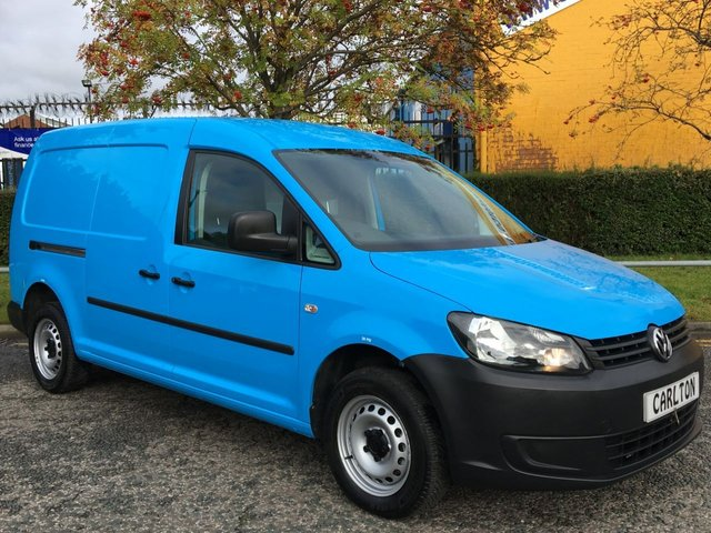 2015 15 VOLKSWAGEN CADDY MAXI 1.6 C20 TDI STARTLINE [ LOW MILEAGE ] TWIN DOORS