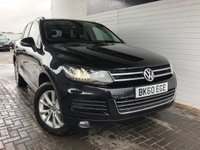 USED 2010 60 VOLKSWAGEN TOUAREG 3.0 V6 SE TDI BLUEMOTION TECHNOLOGY 5d AUTO 237 BHP