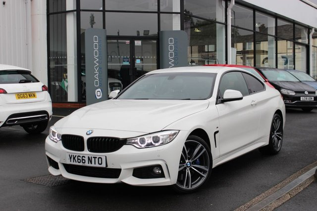 USED 2016 BMW 4 SERIES 3.0 435d M Sport xDrive 2dr