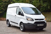 USED 2015 65 FORD TRANSIT CUSTOM 2.2 290 LR P/V 124 BHP