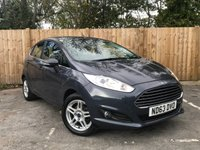 USED 2013 63 FORD FIESTA 1.2 ZETEC 5d 81 BHP Full Service History,Low Miles