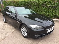 USED 2010 60 BMW 5 SERIES 2.0 520D SE TOURING 5d 181 BHP