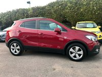 2016 VAUXHALL MOKKA 1.6 CDTI ECOFLEX SE S/S 5d ONE PRIVATE OWNER FROM NEW  £7750.00