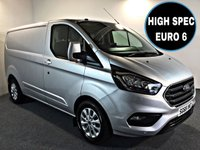 USED 2018 68 FORD TRANSIT CUSTOM 2.0 300 LIMITED P/V L1 H1 129 BHP HIGH SPEC EURO 6