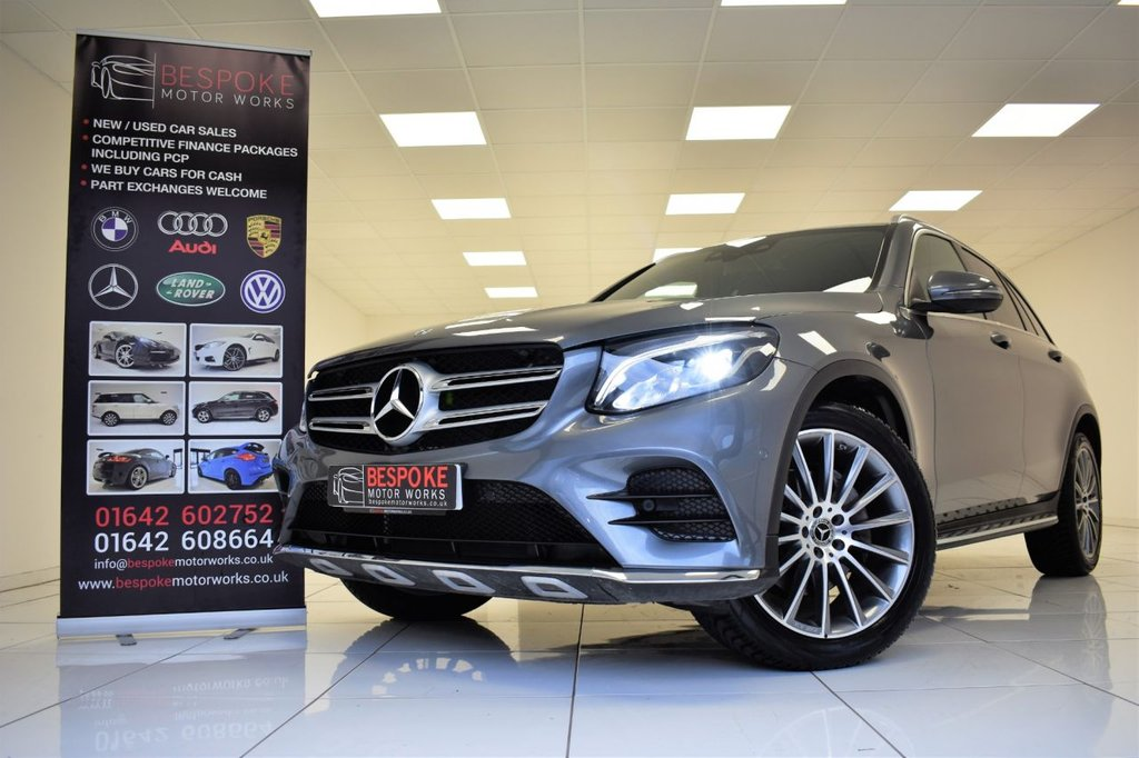 USED 2017 17 MERCEDES-BENZ GLC-CLASS 220D 4MATIC AMG LINE AUTOMATIC