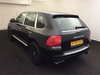 "USED 2005 05 PORSCHE CAYENNE 4.5 TURBO (450 BHP) 5dr AUTO..HIGH SPEC !! PAN ROOF+20""+PARK AID+XENONS+LEATHER+BOSE+CRUISE"