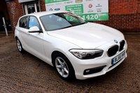 USED 2016 66 BMW 1 SERIES 1.5 116D ED PLUS 5d 114 BHP +ONE OWNER +FSH +SAT NAV.