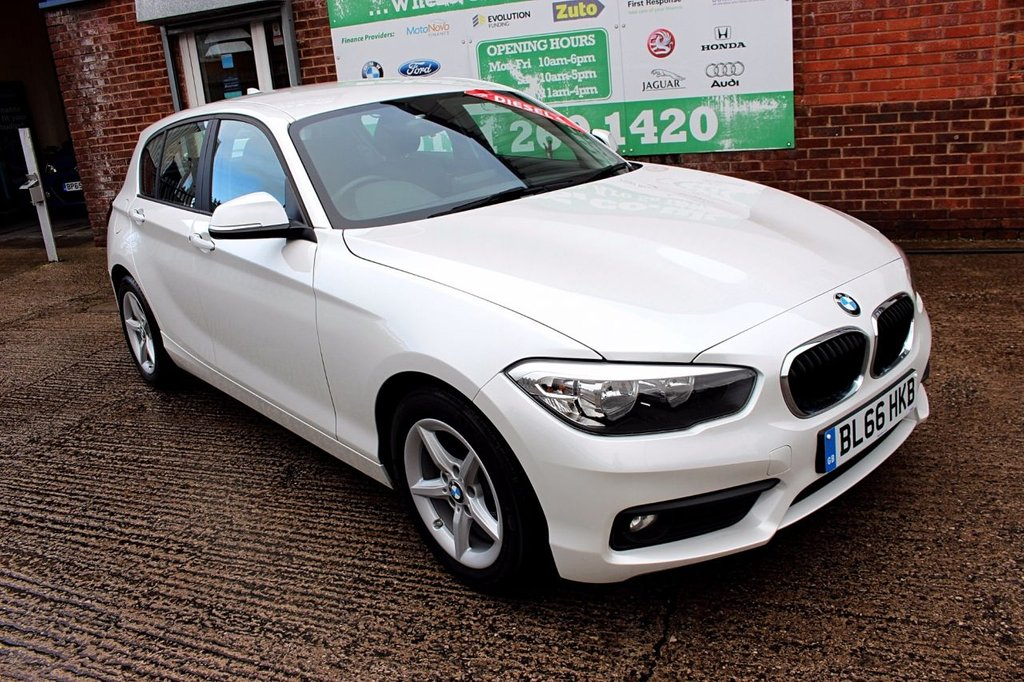 2016 66 BMW 1 SERIES 1.5 116D ED PLUS 5d 114 BHP