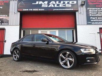 2012 AUDI A4 2.0 TDI SE TECHNIK 4d 134 BHP £7600.00