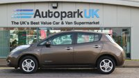 USED 2016 66 NISSAN LEAF 0.0 ACENTA 5d AUTO 109 BHP LOW DEPOSIT OR NO DEPOSIT FINANCE AVAILABLE