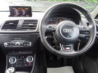 USED 2013 13 AUDI Q3 2.0 TDI S LINE 5d 138 BHP HTD LTHR SEATS*NAVIGATION*MEDIA BLUETOOTH.FSH