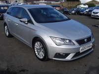 USED 2017 17 SEAT LEON 1.6 TDI SE DYNAMIC TECHNOLOGY 5d 114 BHP LARGE ESTATE CAR WITH GREAT SPECIFICATION
