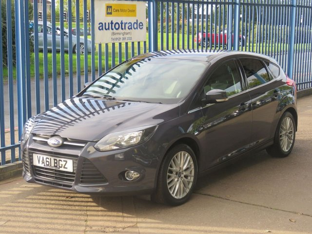 USED 2012 61 FORD FOCUS 1.6 ZETEC 5d 124 BHP Air Con,Alloys,Privacy glass,Service History
