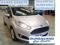 USED 2014 64 FORD FIESTA 1.2 ZETEC 5d 81 BHP Only £30 Road Tax & 36,000 Miles, Pre Sale Service, Ford Bluetooth !!!