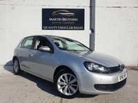 USED 2011 61 VOLKSWAGEN GOLF 1.6 MATCH TDI 5d 103 BHP