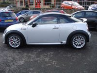 USED 2012 62 MINI COUPE 1.6 JOHN COOPER WORKS 2d 208 BHP LOW MILEAGE WITH HISTORY SPORTS CAR