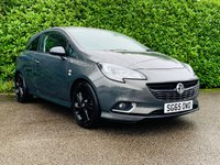 2015 VAUXHALL CORSA 1.2 LIMITED EDITION 3d 69 BHP £6190.00