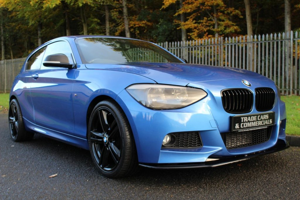 USED 2015 15 BMW 1 SERIES 2.0 120D M SPORT 3d 181 BHP A TASTEFULLY MODIFIED EXAMPLE WITH BMW DEALER SERVICE HISTORY!!!