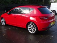 USED 2015 15 SEAT LEON 1.4 ECOTSI FR TECHNOLOGY 5d 150 BHP HIGH SPEC LOW MILEAGE FSH  LOW ROAD TAX LOW INSURANCE