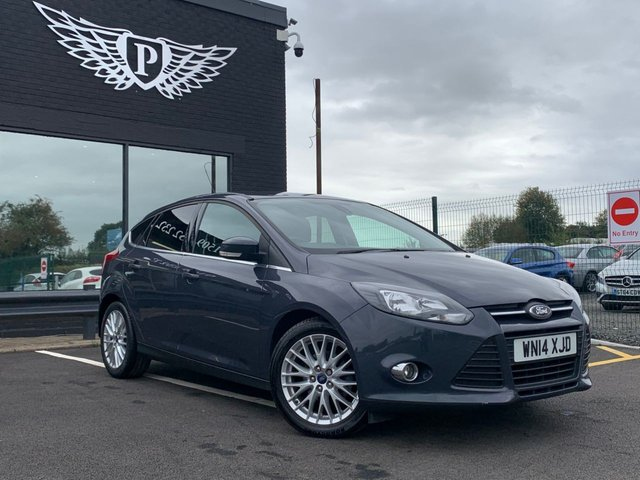 USED 2014 14 FORD FOCUS 1.0 ZETEC 5d 124 BHP AA WARRANTY,  MOT AND SERVICE INCLUDED