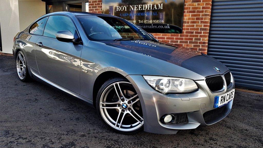 "USED 2011 61 BMW 3 SERIES 2.0 320I M SPORT 2DR AUTO 168 BHP ***19"" ALLOYS - SENSORS - HEATED LEATHER***"