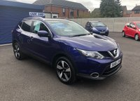 USED 2016 66 NISSAN QASHQAI 1.5 N-CONNECTA DCI 5d 108 BHP Buy with confidence from a garage that has been established  for 26 years.