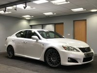 USED 2008 LEXUS IS 5.0 F 4d AUTO 417 BHP +++LOW MILES+++ +++FULL SERVICE HISTORY+++
