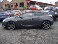 USED 2015 15 VAUXHALL ASTRA 1.4 GTC LIMITED EDITION S/S 3d 138 BHP LOW MILEAGE WITH HISTORY SPORTS COUPE