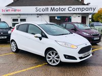 2014 FORD FIESTA 1.0 Titanium X 5 door £6899.00