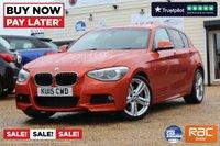 USED 2015 15 BMW 1 SERIES 1.6 118I M SPORT 5d 168 BHP
