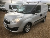 USED 2015 15 VAUXHALL COMBO 1.2 2000 L1H1 CDTI SPORTIVE 90 BHP 24000 MILES FULL DEALER SERVICE HISTORY * AIR CONDITIONING * ONE OWNER