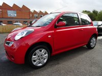 USED 2008 08 NISSAN MICRA 1.2 ACENTA 3d 80 BHP 1 OWNER IMMACULATE CAR